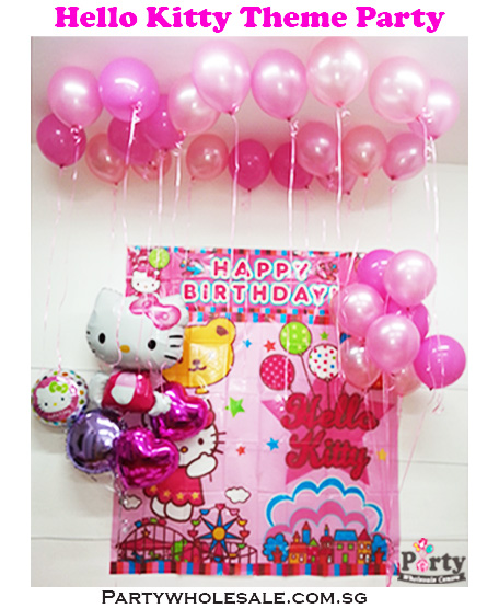 do it yourself hello kitty party decorations