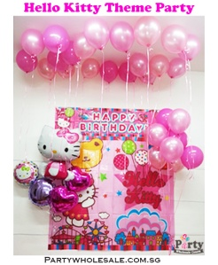 Hello Kitty Pink Theme Party