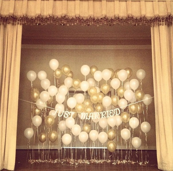 Wedding balloons decoration party wholesale centre for Balloon backdrop decoration