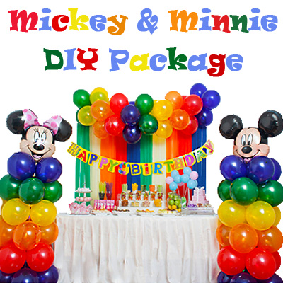 Mickey & Minnie Mouse Package $49.90