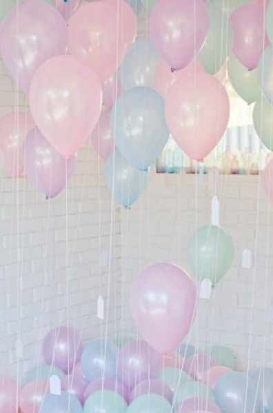 Pearly Coloured Balloon