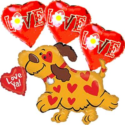 Puppy-Love-Balloon-Bouquet