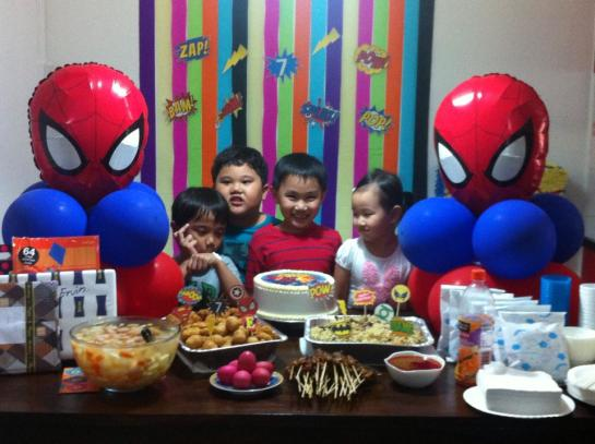 Spider-man Party Balloons