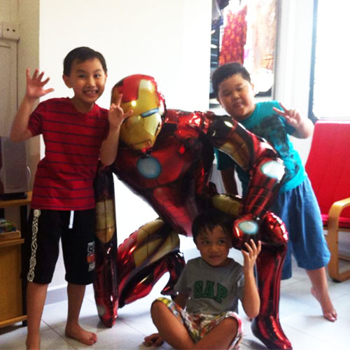 Ironman Party Balloons