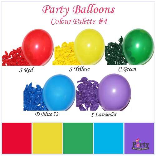 Party-Balloons-Colour-Palette-4-Party-Wholesale-Centre
