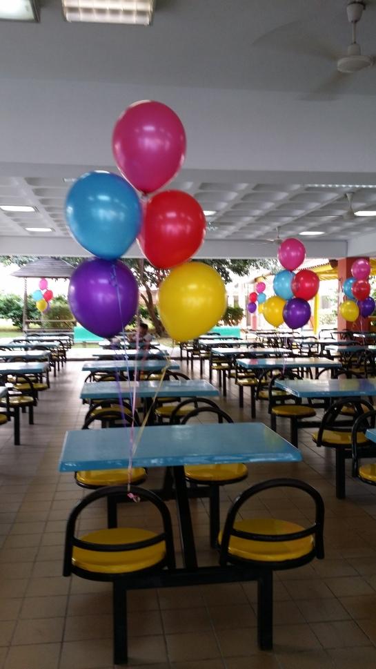 Layered Latex Helium Balloons Singapore