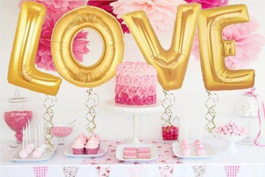 Wedding Reception Dessert Table Decoration