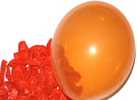 Orange-Party-Balloons
