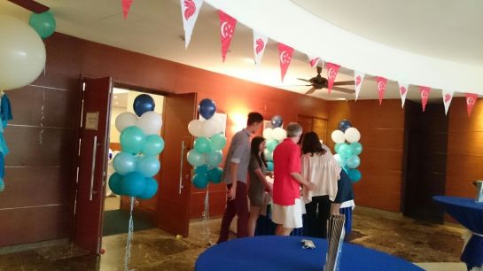 Entrance Balloons Singapore