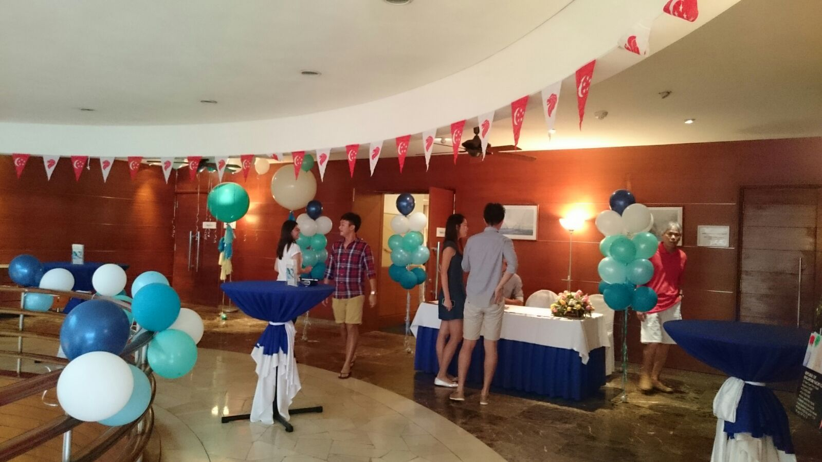Reception Balloons Decoration For 21st Birthday Party Singapore