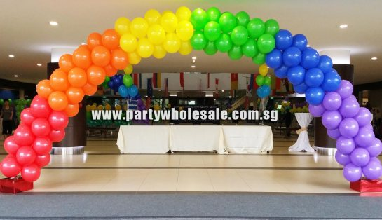 Main Entrance Balloon Arch