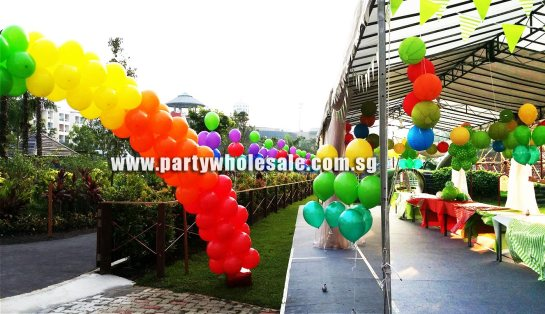 Outdoor Balloon Setup Singapore