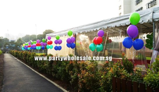Outdoor helium Balloon Singapore