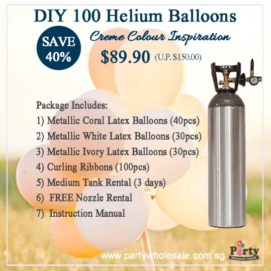 DIY-Helium-Balloons-Wedding-Balloon-Colour-Creme-Inspiration-Party-Wholesale