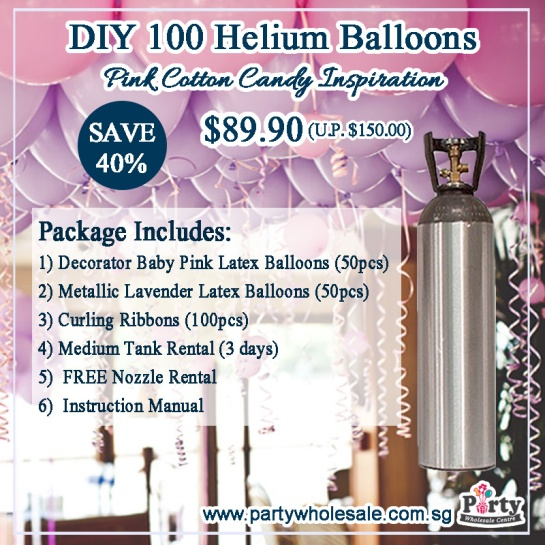 DIY-Helium-Balloons-Wedding-Balloon-Colour-Pink-Cotton-Candy-Inspiration-Party-Wholesale