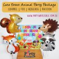 Cute Forest Animal Balloons Singapore Party Wholesale Centre Wow Lets Have Fun