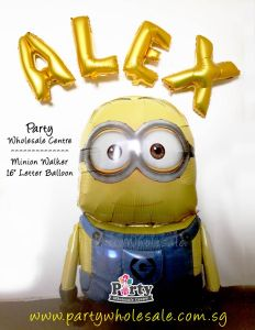 Minion Despicable Me Airwalker Balloon Singapore Party Wholesale Centre Wow Lets Have Fun