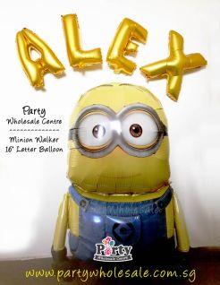 Minion Despicable Me Airwalker Balloon Singapore Party Wholesale Centre Wow Lets Have Fun
