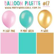 Girls Birthday Helium Balloons Singapore Party Colour Inspiration Wholesale Centre