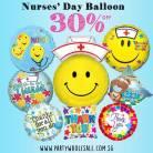 Nurse Day Balloons Singapore Party Wholesale Centre Wow Lets Have Fun