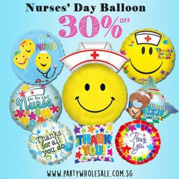 Nurse Day Balloons Singapore Party Wholesale Centre Wow Lets Have Fun