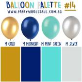 Tiffany Helium Balloons Singapore Party Colour Inspiration Wholesale Centre