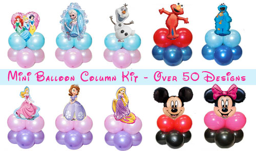 Disney Table Balloon Column Singapore Party Wholesale Centre
