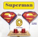 Superman Balloon Singapore Party Wholesale Centre Wow Your Party Guest