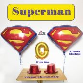 Superman Balloon Singapore Party Wholesale Centre Wow Your Party Guest