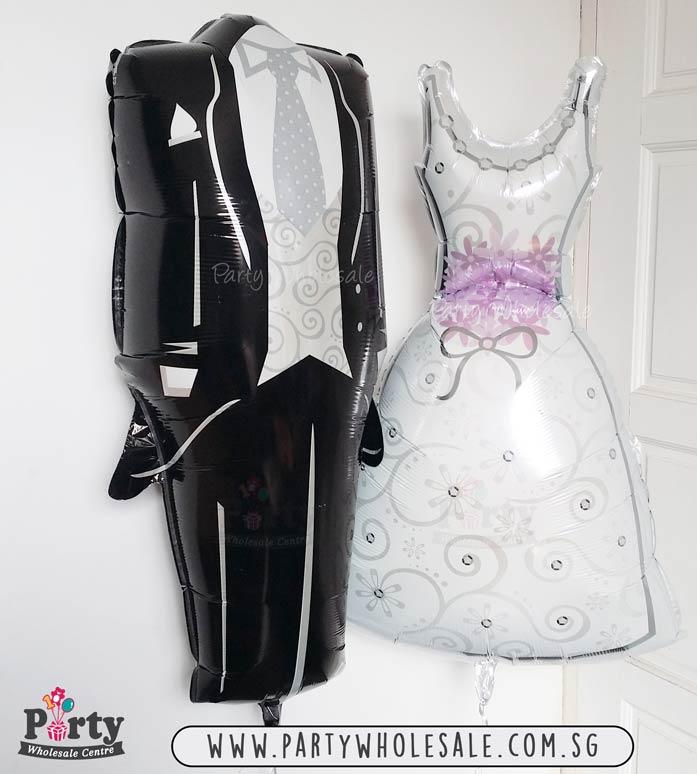 Wedding-Dress-&-Tuxedo-Balloons-Singapore-Party-Wholesale-Centre ...