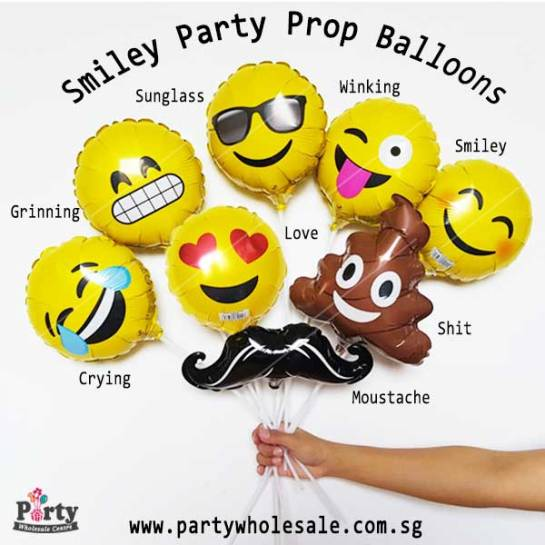 Smiley-Emoji-Party-Prop-Balloon-Singapore-Party-Wholesale-Frankel
