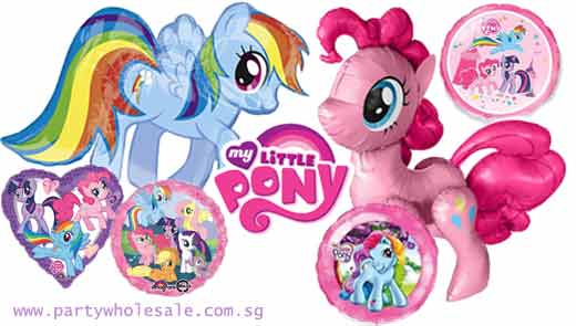 My Little Pony Balloons Singapore Party Wholesale